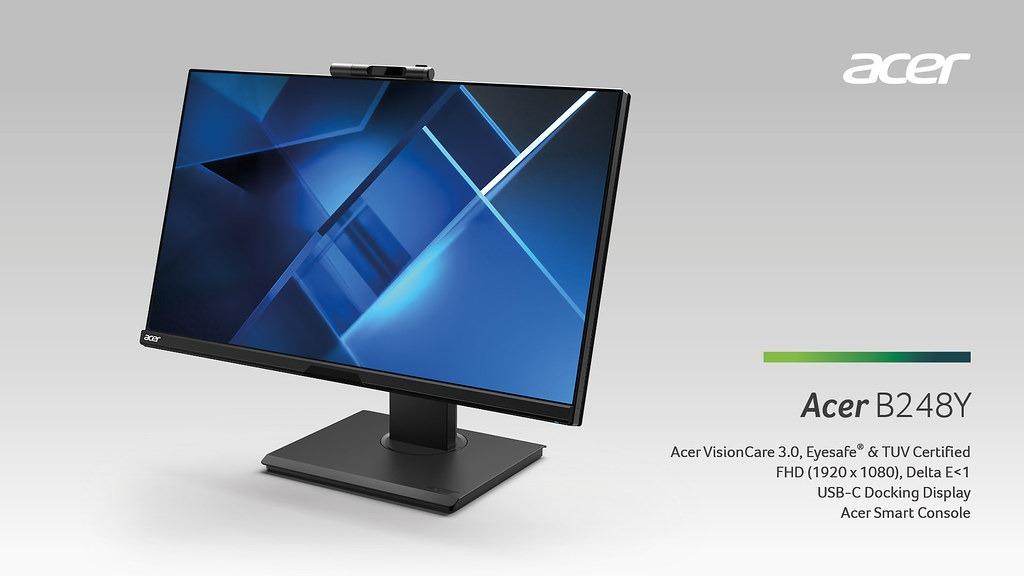 Acer B248Y, CBL272U y BL270: monitores que protegen la vista