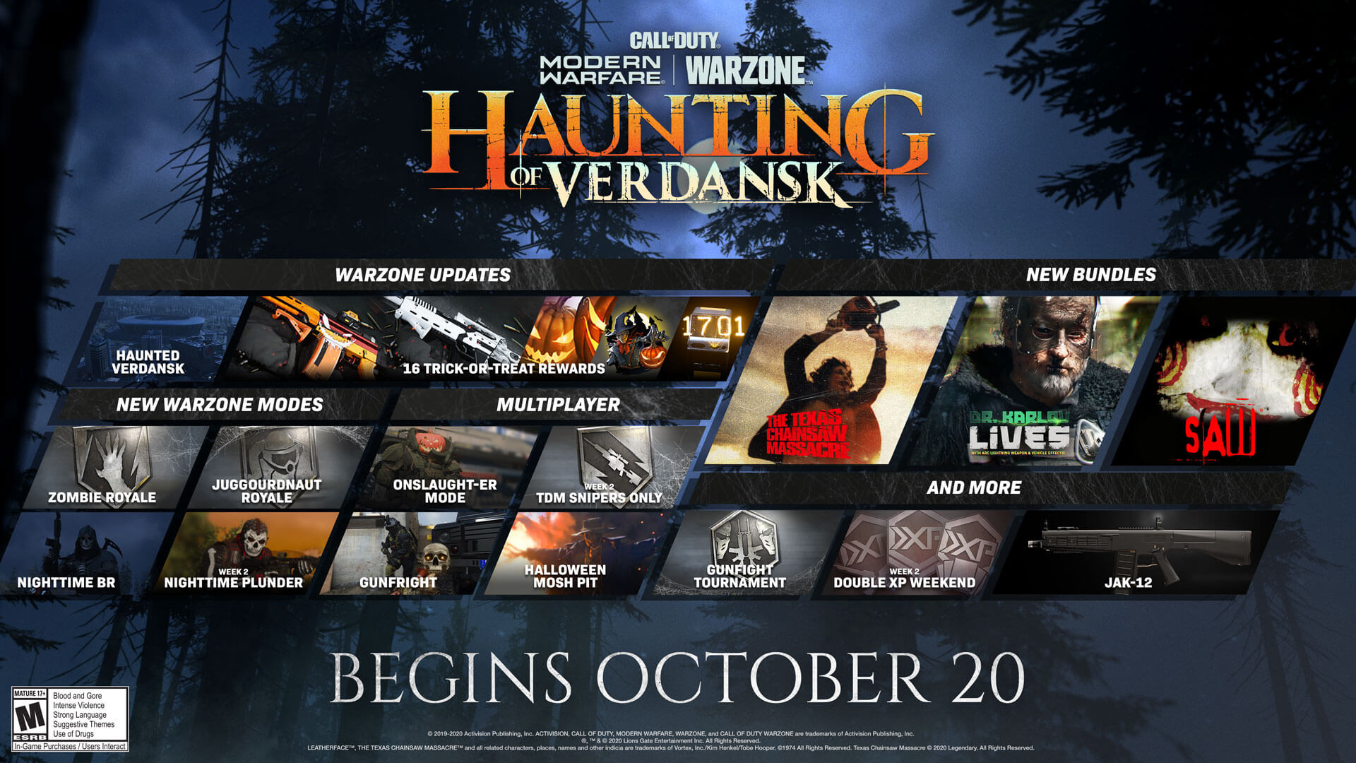 Call of Duty Haunting of Verdansk ¿Truco o Trato?