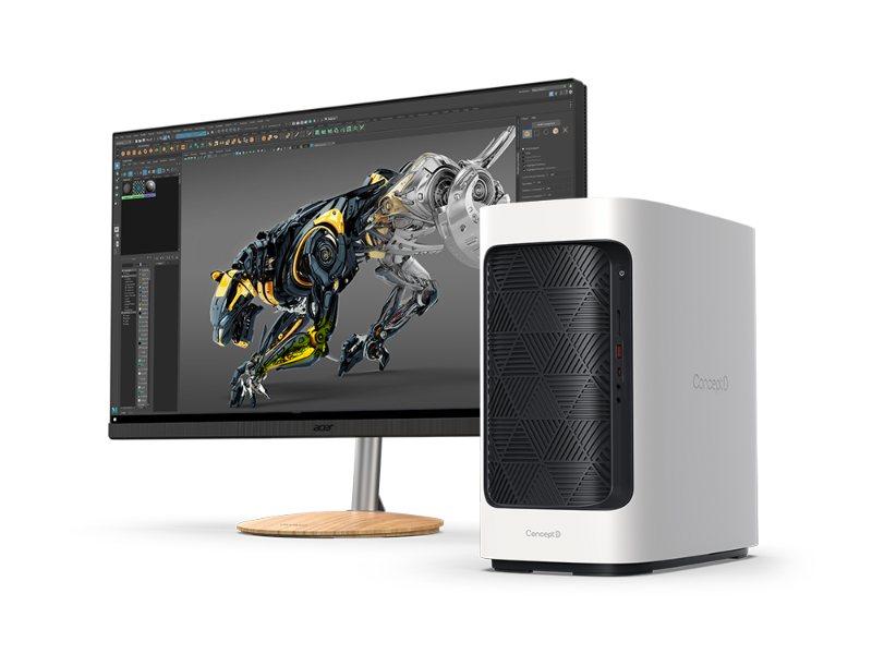 ConceptD 300: pequeño y poderoso - Acer presenta los nuevos equipos ConceptD