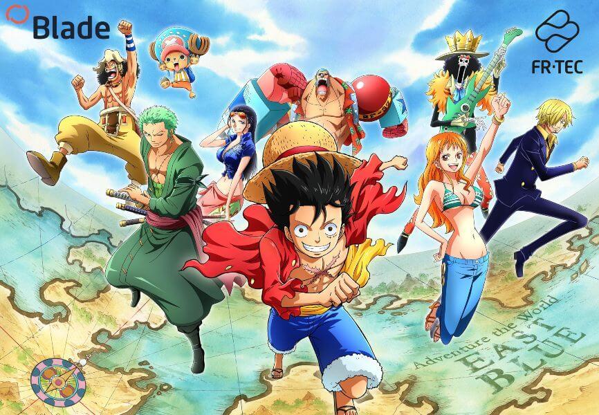 Licencia oficial de accesorios para gaming de One Piece