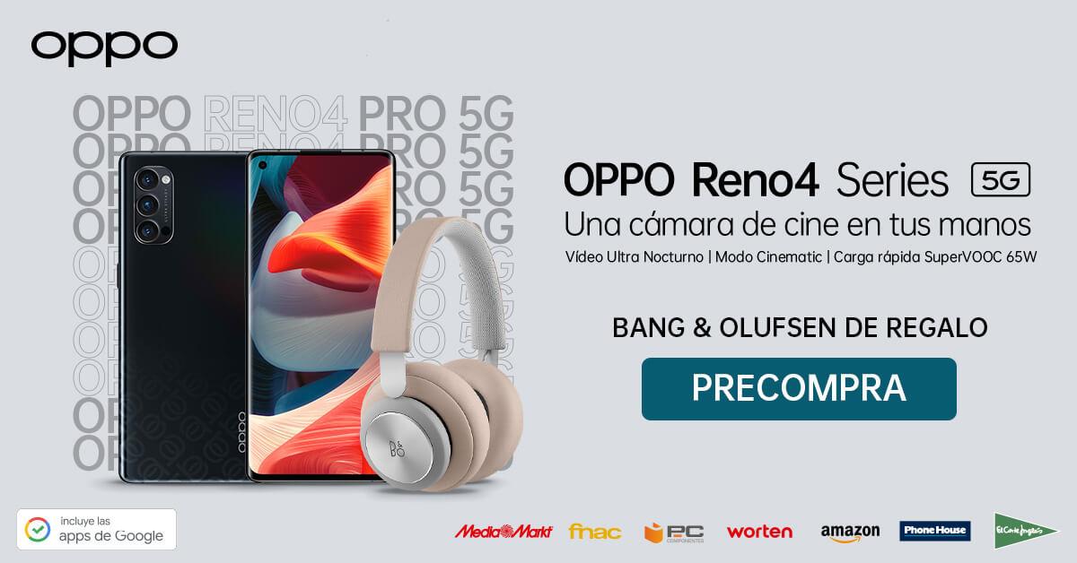 OPPO Reno4 Series ya disponible en Amazon y PCC