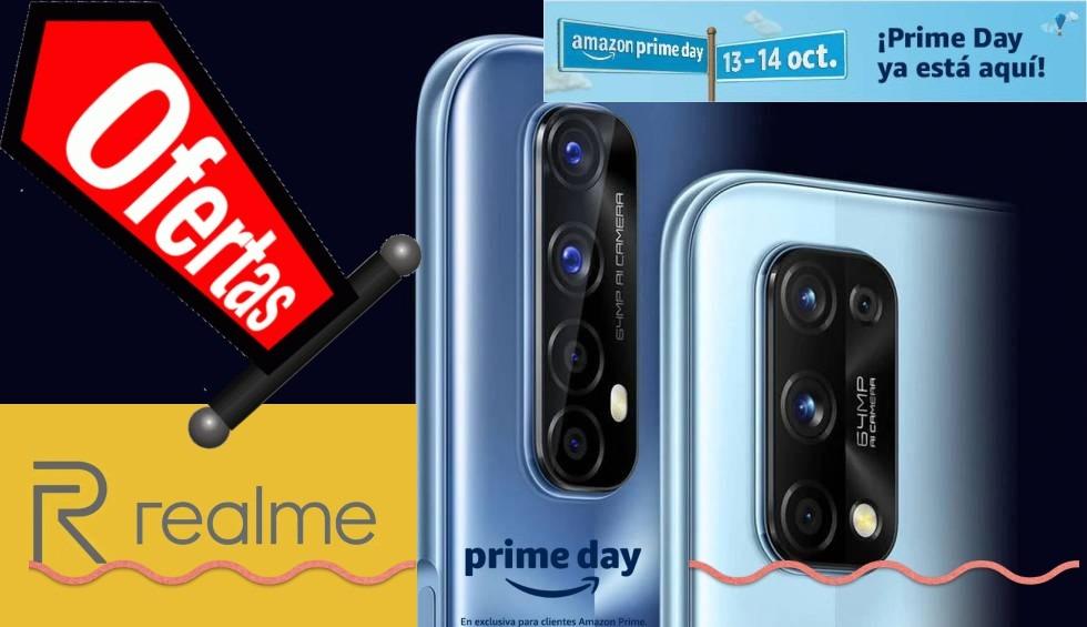 Otras ofertas de realme en el Amazon Prime Day