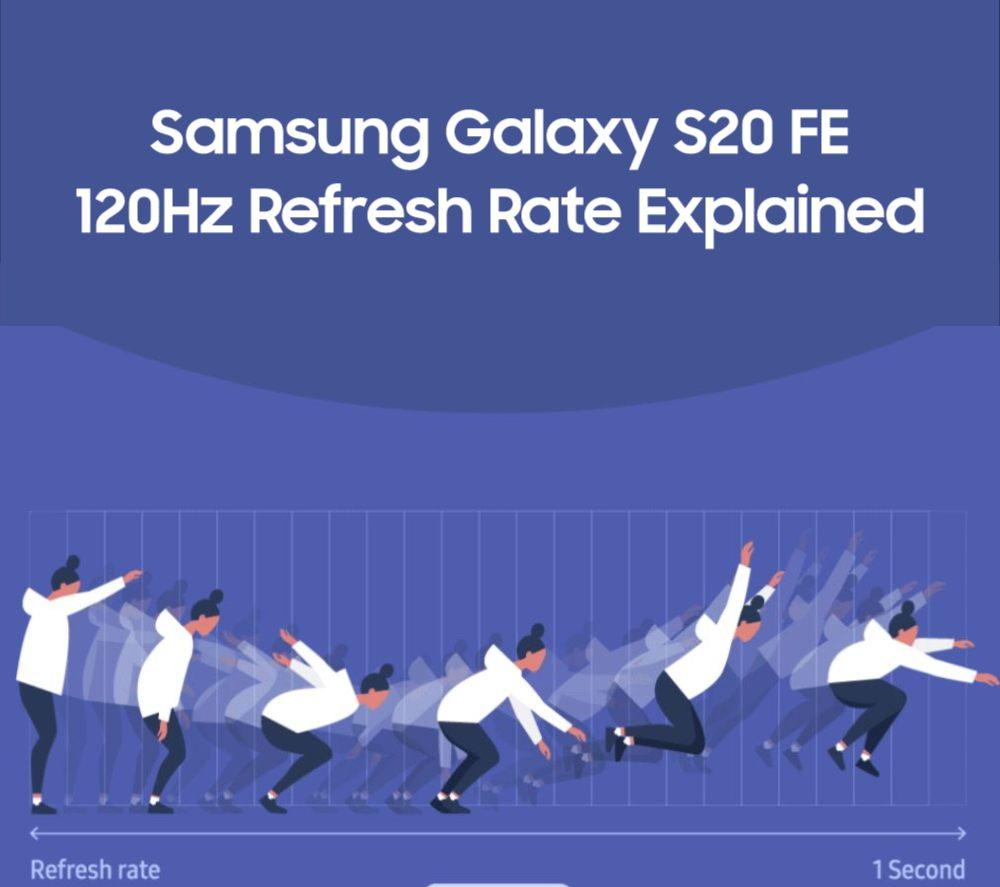 Los 120Hz de Samsung llegan al Galaxy S20 F
