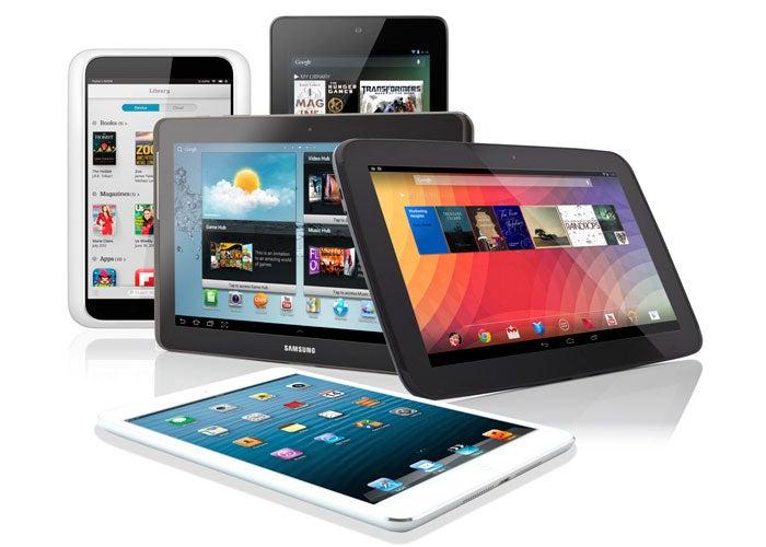 Los envíos mundiales de tablets aumentaron un 24,9%