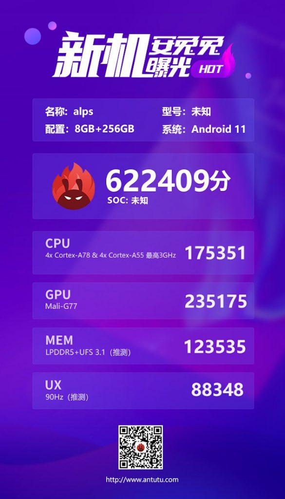 Este procesador de MediaTek es mejor que el Snapdragon 865
