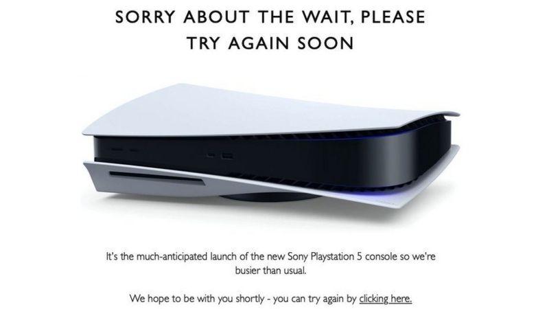 PS5 finalmente llegó... y se agotó