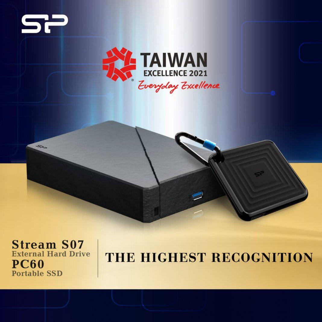Premio A La Excelencia De Taiwán para Silicon Power
