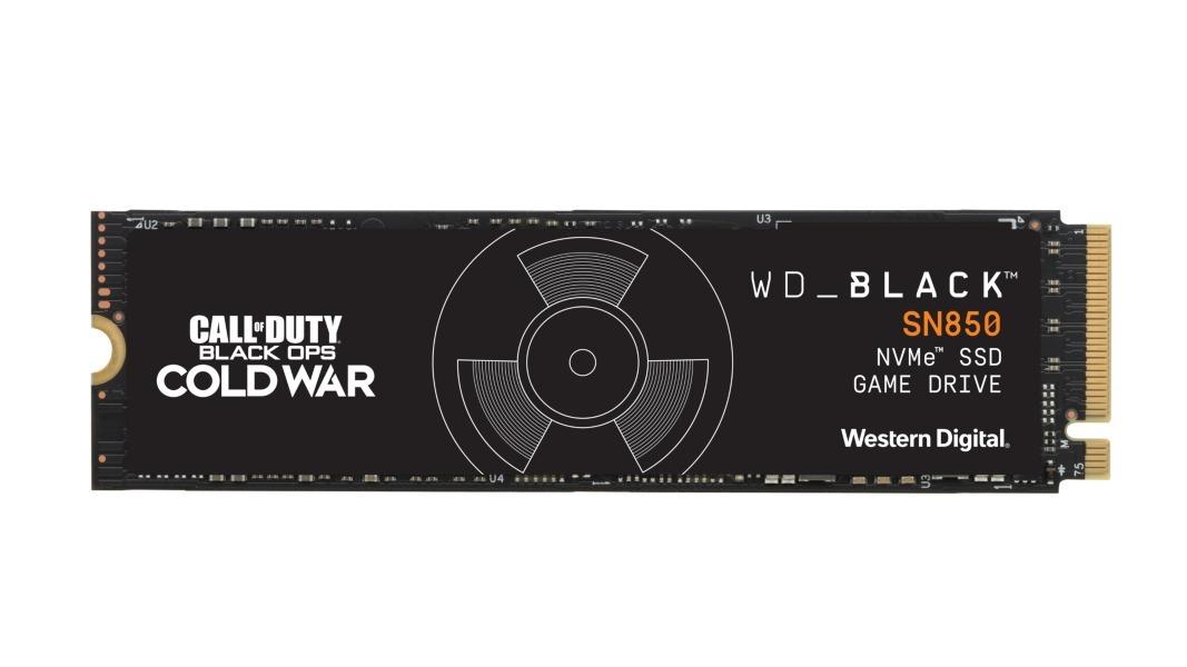 Western Digital edición especial Call of Duty WD_ Black - WD_BLACK Call of Duty: Black Ops Cold War Special Edition SN850 NVMe SSD