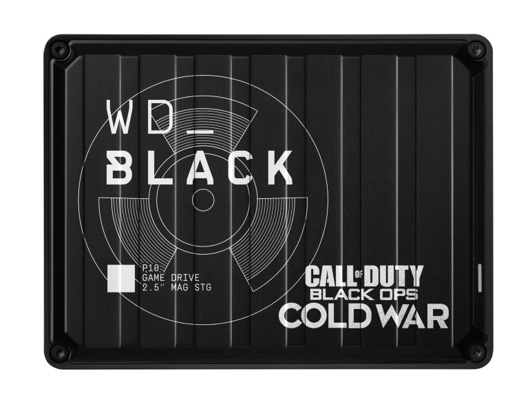 WD_BLACK Call of Duty: Black Ops Cold War Special Edition P10 Game Drive