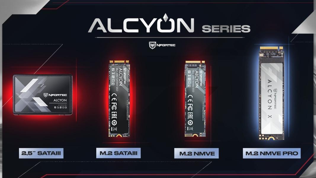 Nfortec Alcyon, gama completa de discos duros SSD