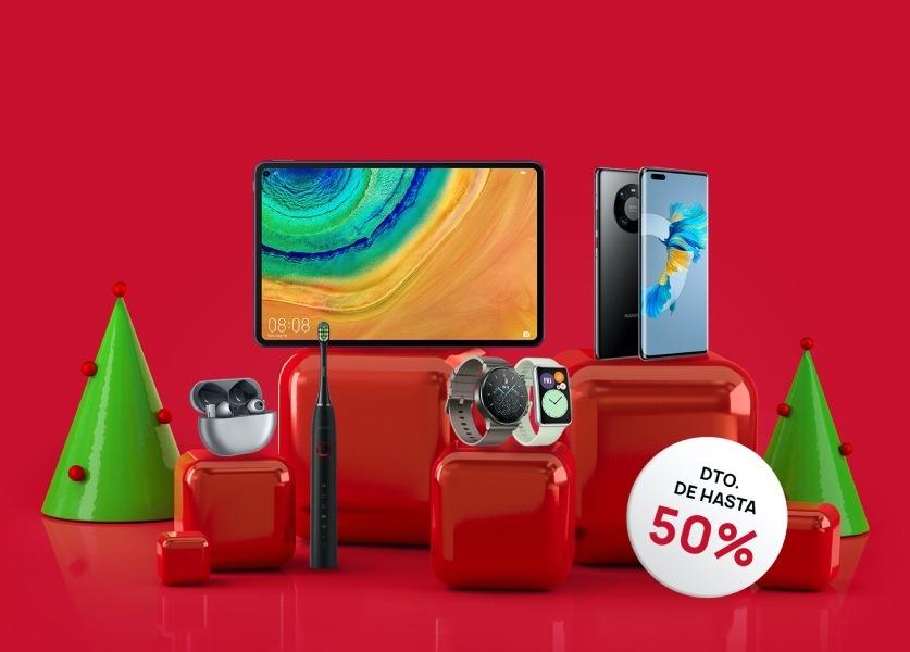 Las ofertas de Navidad de Huawei ya están aquí
