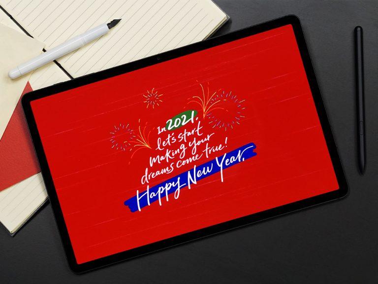 Domina la caligrafía e ilustración con Galaxy Tab S7+