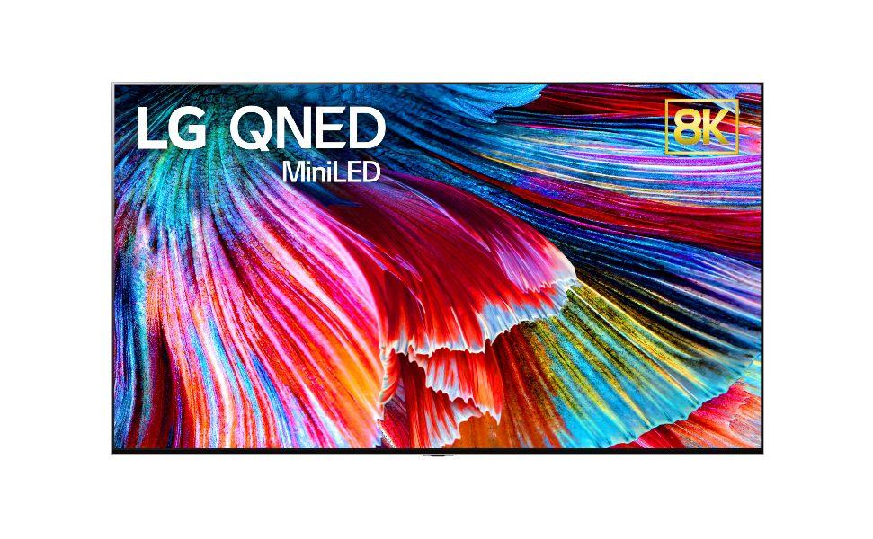 LG lanza su primer televisor GNED Mini LED en CES 2021
