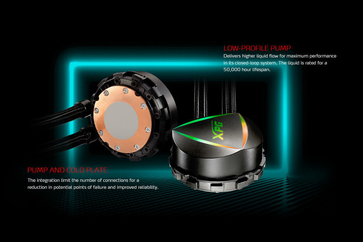 XPG LEVANTE 360 All-in-One Liquid Cooler