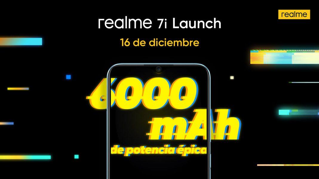 realme 7i llega a España con 6000 mAh