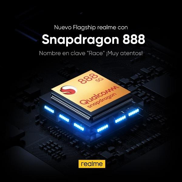 realme de los primeros buques insignia con Snapdragon 888