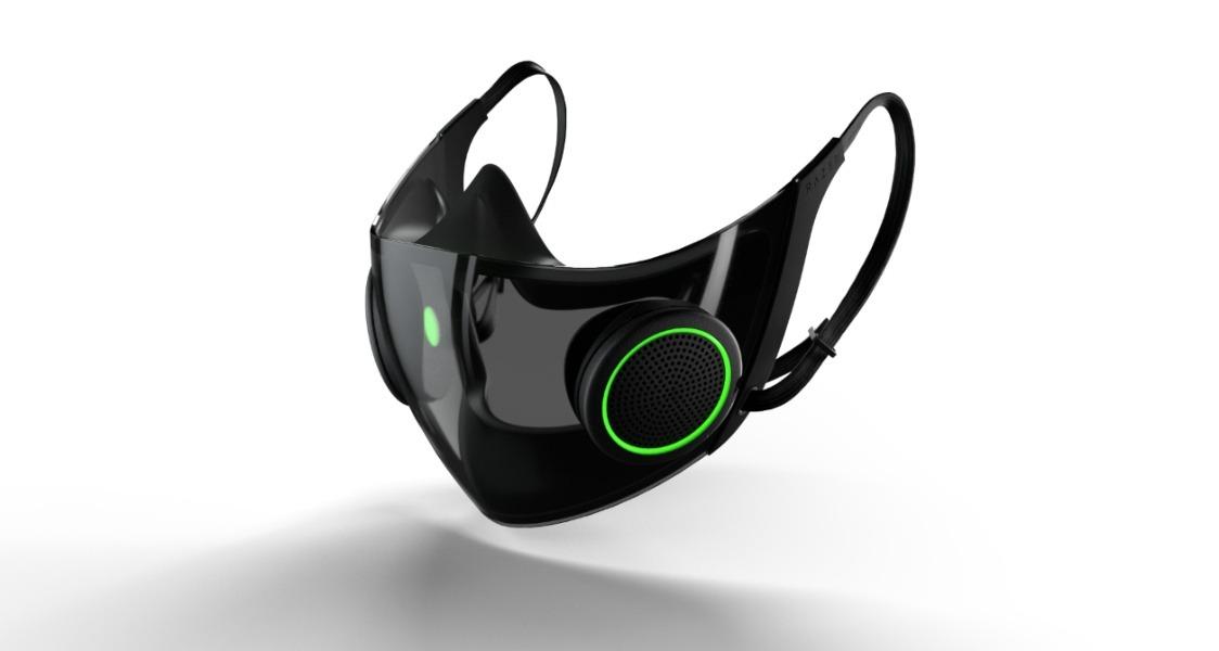 Diseños conceptuales de máscara inteligente y una silla gaming nunca vista en CES 2021
