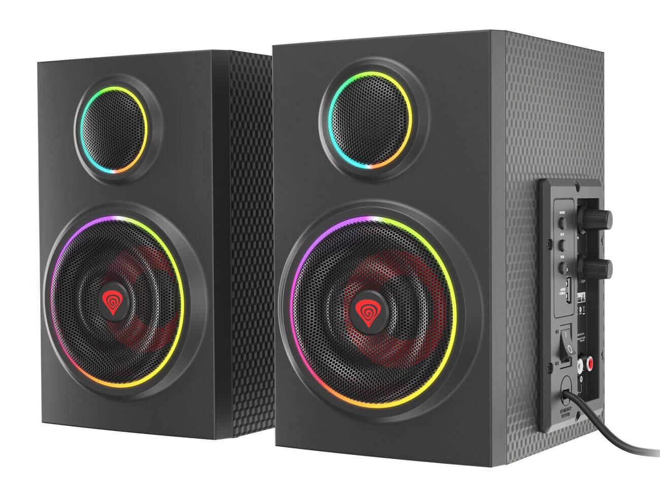 Genesis Helium 300BT sonido potente y personalización