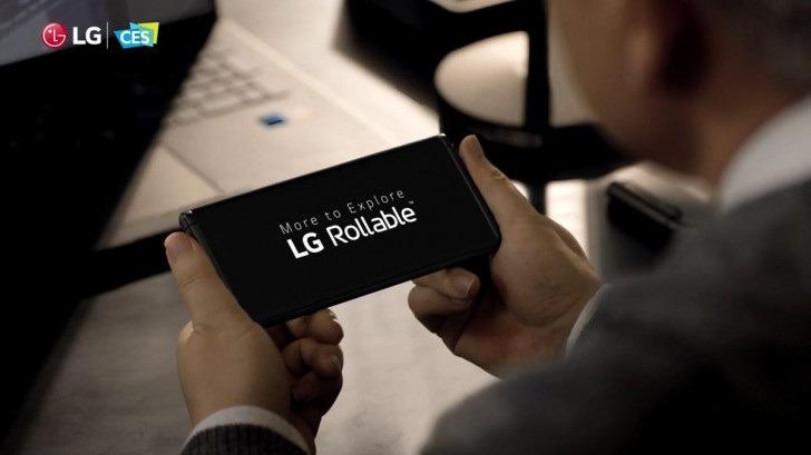 LG Rollable ya es una realidad y llega este año