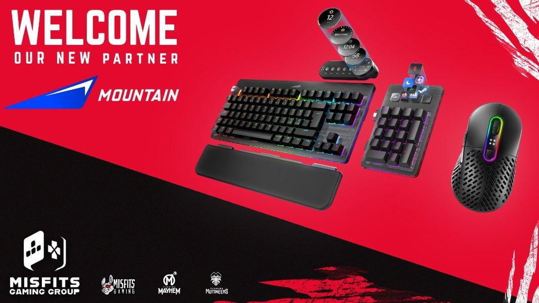Mountain anuncia un acuerdo exclusivo con Misfits Gaming