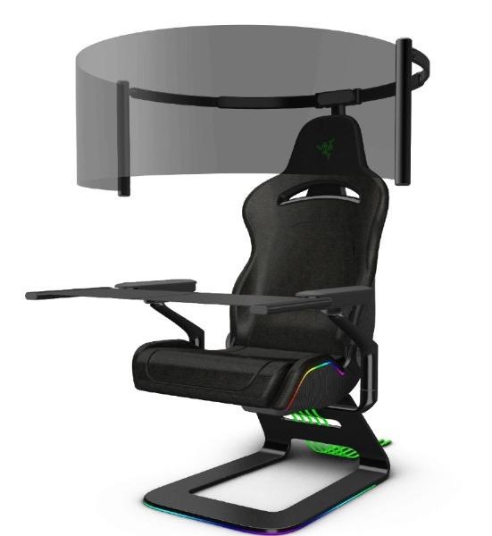 Diseños conceptuales de máscara inteligente y una silla gaming nunca vista en CES 2021 - RAZER PROJECT BROOKLYN