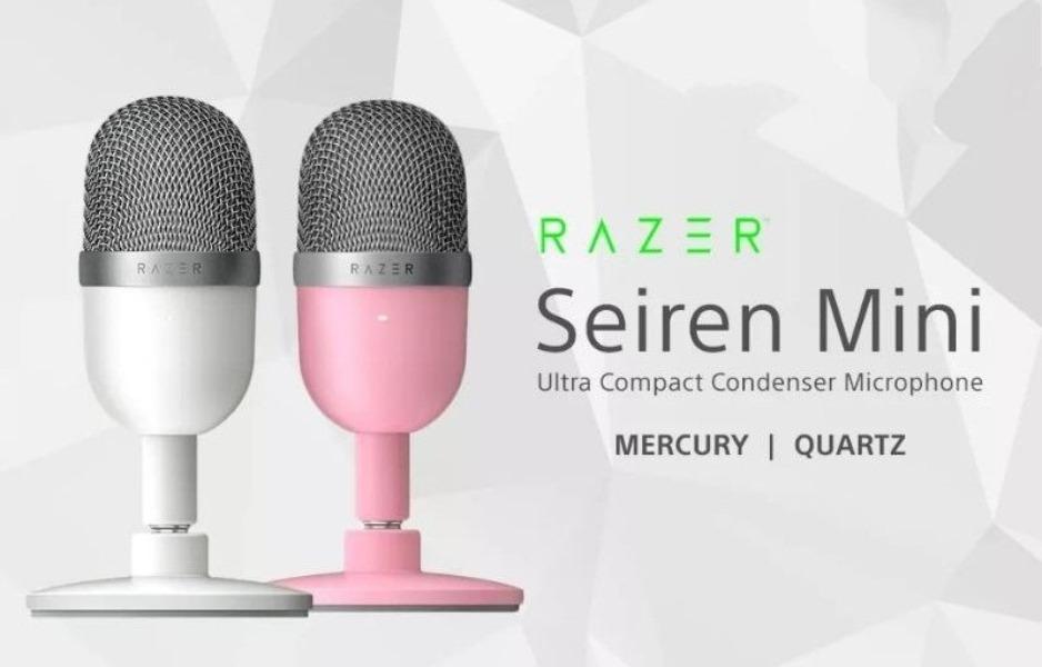 Razer Seiren Mini Quartz y mercury