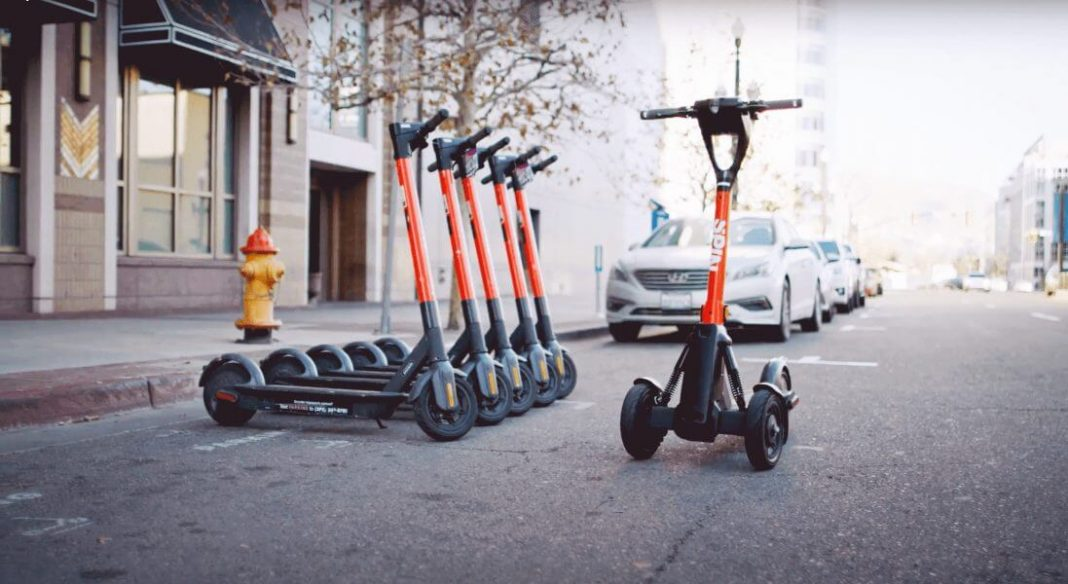 SPIN lanzará patinetes que permiten la gestión remota