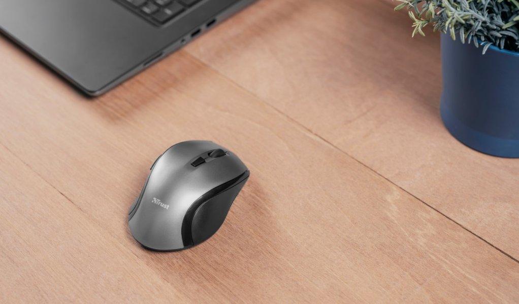 Ratón inalámbrico Kuza: cómodo y ajustable