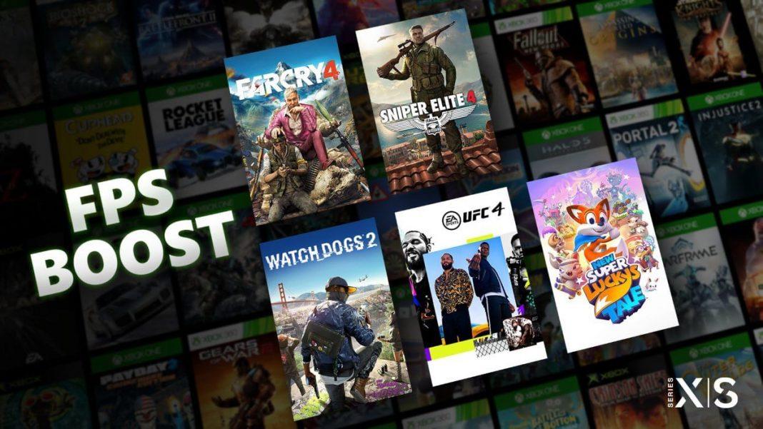 FPS Boost para Microsoft Xbox Series X/S