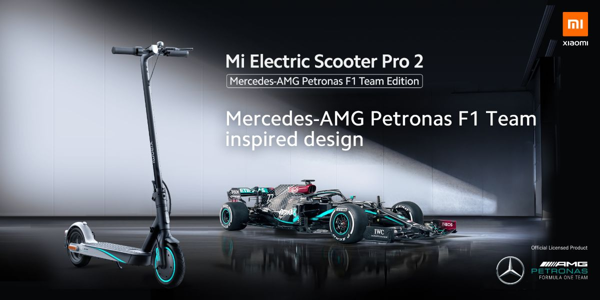 Mi Electric Scooter Pro 2 Mercedes-AMG ya disponible