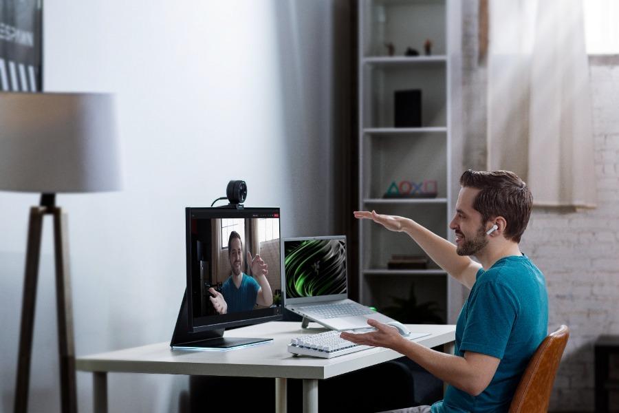 Razer Kiyo Pro, webcam para videoconferencia nivel profesional