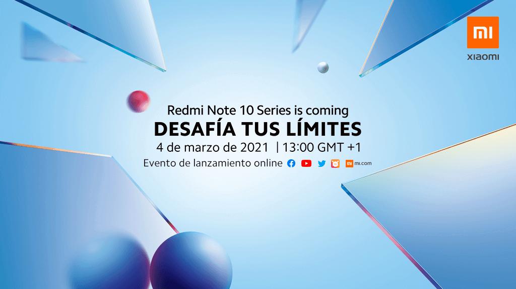 serie Redmi Note 10
