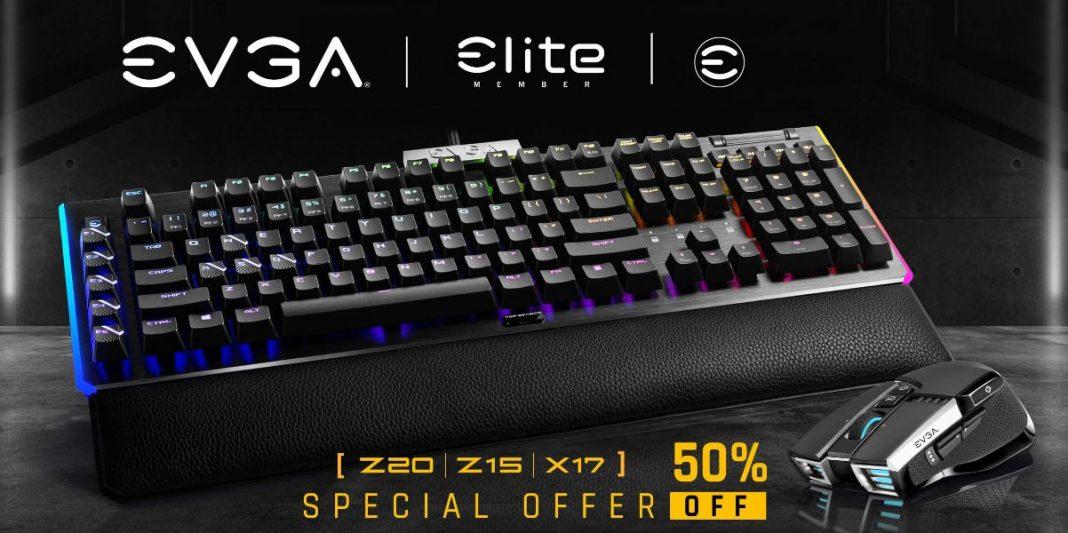 Los nuevos teclados y ratones presentados por EVGA