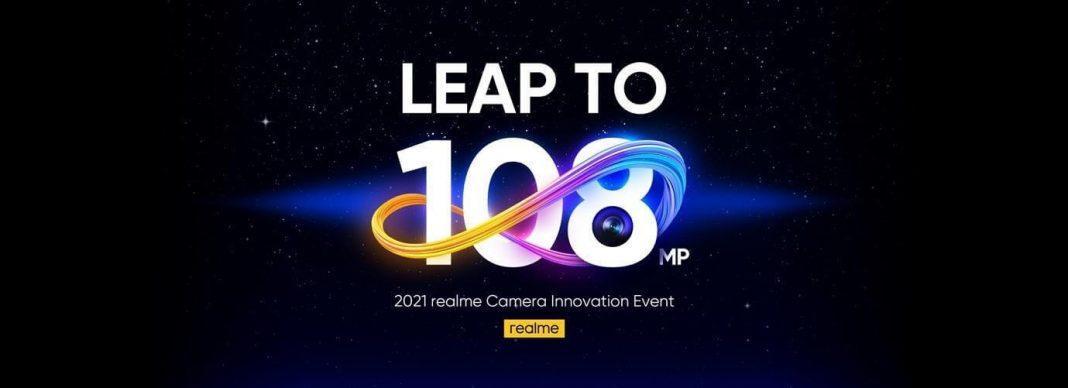 realme presenta su primera cámara de 108MP