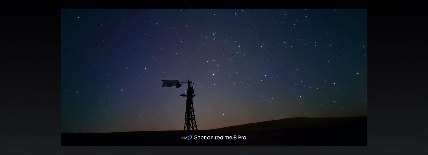 Nuevo modo constelación (Starry Mode) con vídeo time-lapse