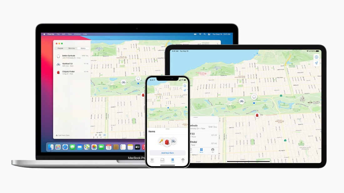 Apple Find My Network