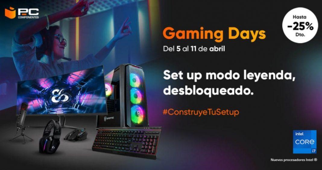 Gaming Days de PCComponentes