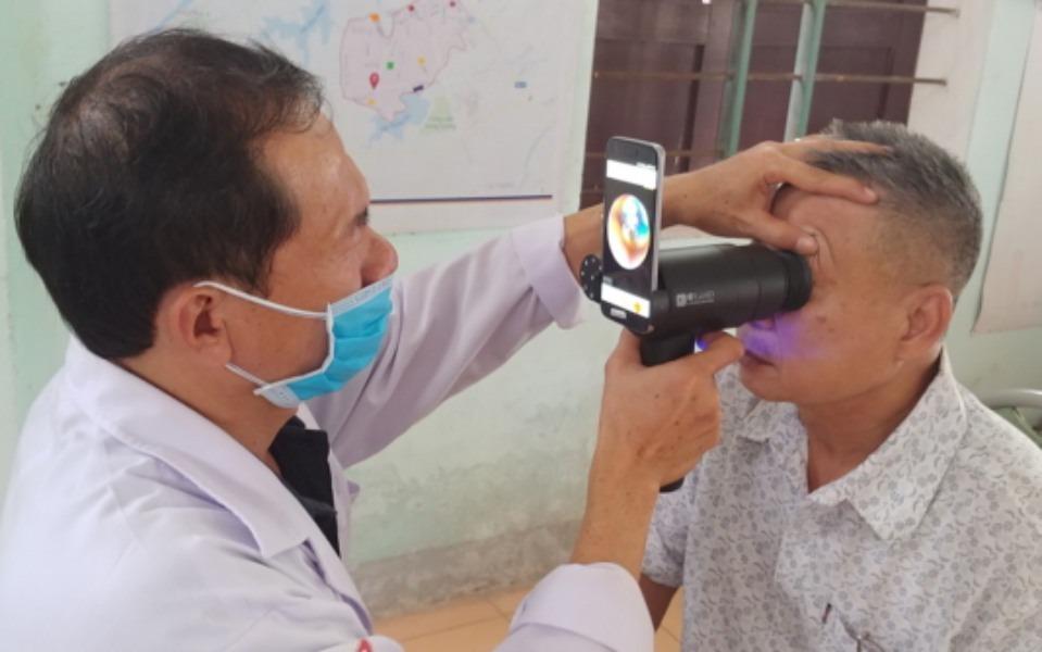 Los smartphones Galaxy reutilizados para facilitar el cuidado de los ojos