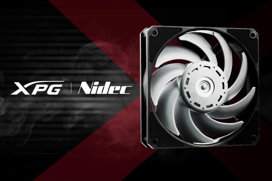 XPG y Nidec con la última tecnología en ventilación