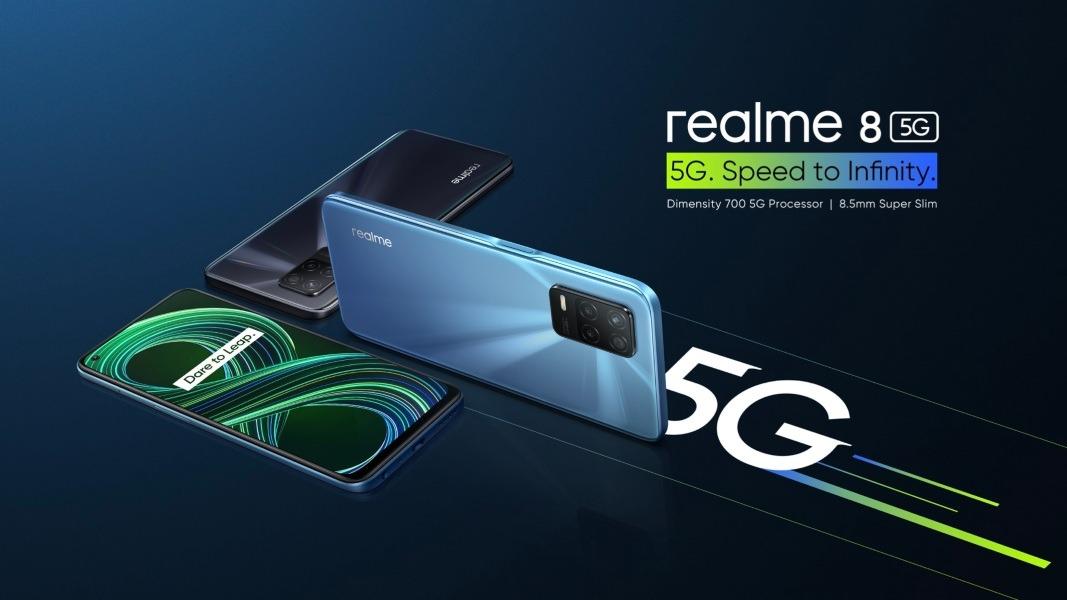 realme 8 5G, el móvil 5G más accesible del mercado y primero con Dimensity 700