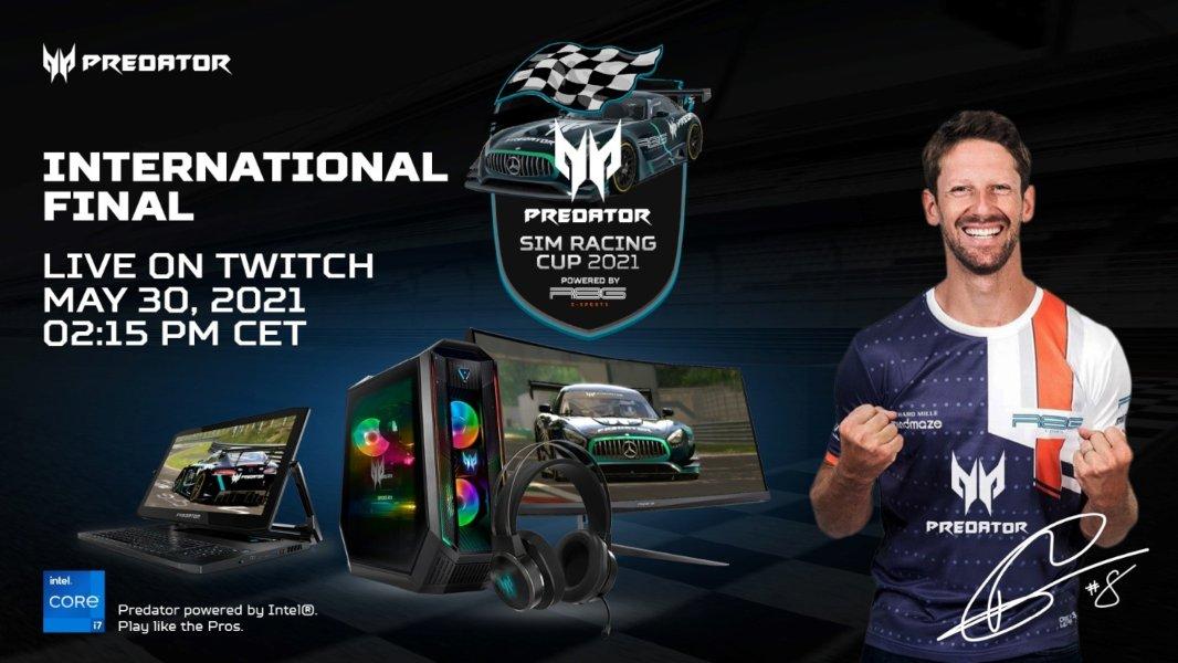 Final Internacional de Predator Sim Racing Cup 2021 en directo