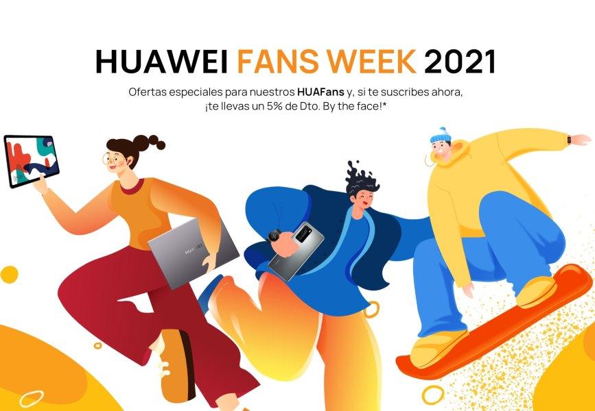 HUAWEI Fans Week 2021 premios y grandes ofertas para los fans
