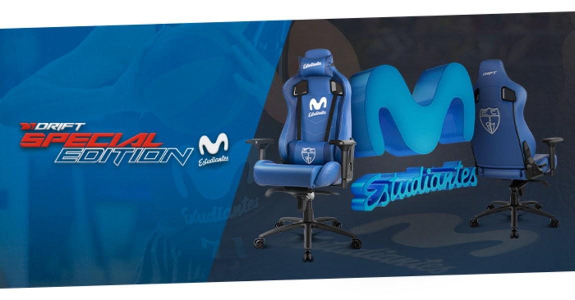 Silla Gaming Edición Especial Movistar Estudiantes