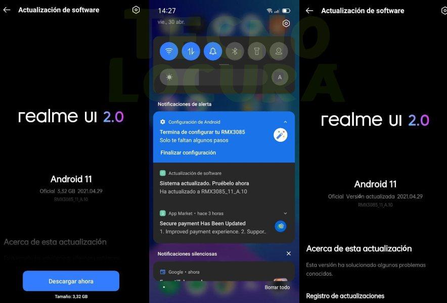 realme UI 2.0 - realme 8 primeras impresiones