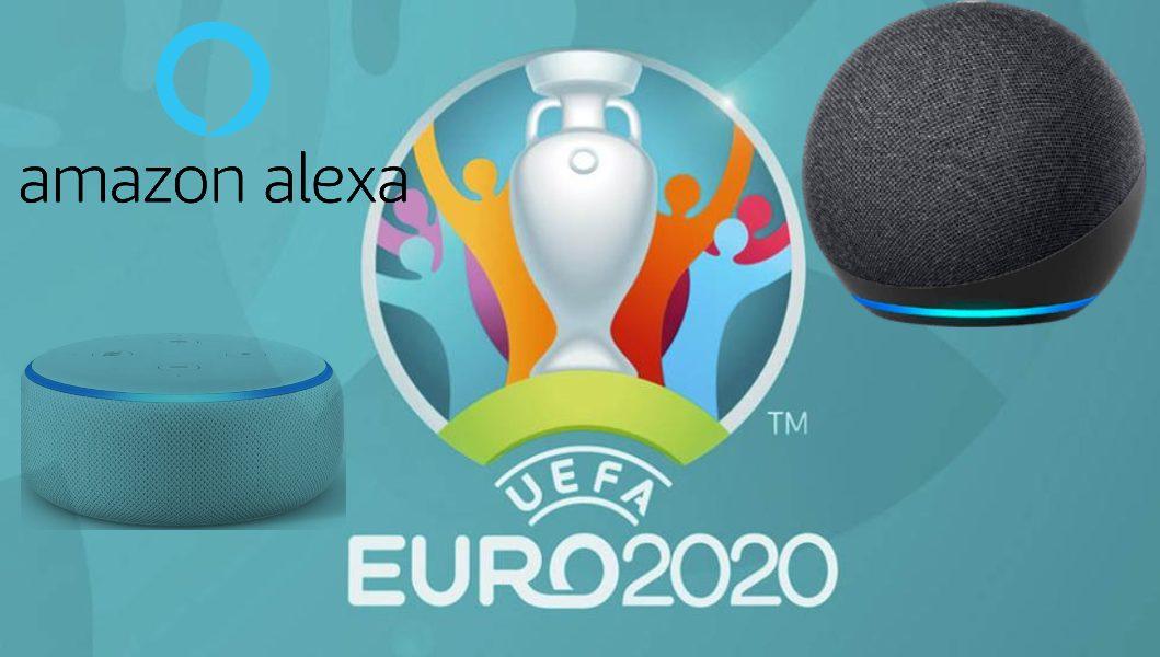 Activa el modo futbolero con Alexa y su quiz oficial de la Eurocopa