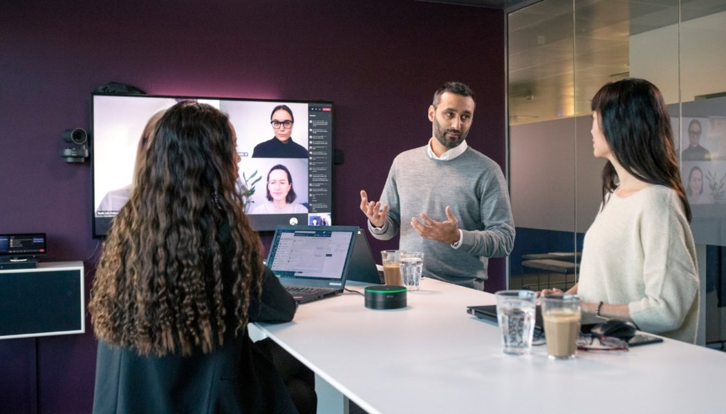 EPOS EXPAND CAPTURE 5, altavoz inteligente para Microsoft Teams Rooms