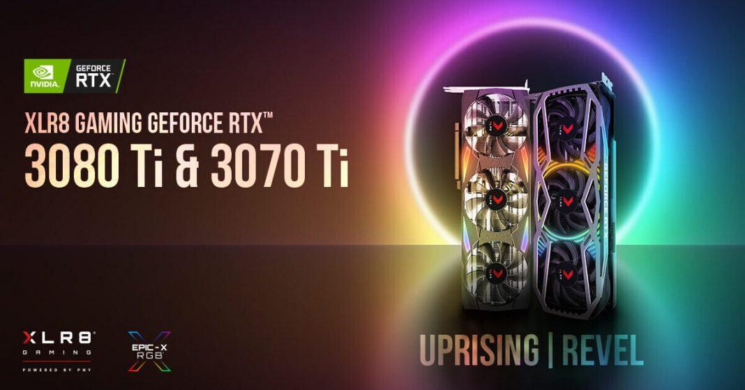 PNY XLR8 Gaming presenta las nuevas GeForce RTX 3080 Ti y RTX 3070 Ti