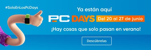 Arrancan los PcDays de PcComponentes