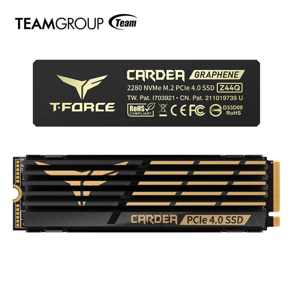 T-FORCE CARDEA Z44Q, el SSD PCIe 4.0 con dos módulos de enfriamiento