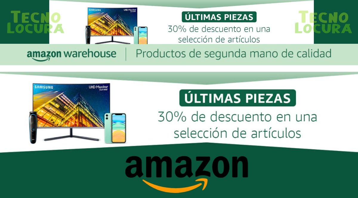 30% de descuento en reacondicionados de Amazon